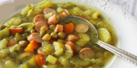 Groszkowa (Sweet Peas Soup) - Vegetarian