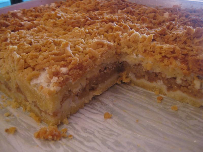 Ukrainian Apple Cake Recipe